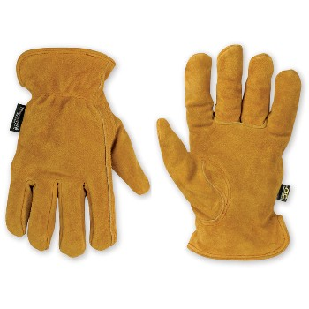 Xl Tan Cwhide Drvr Glove