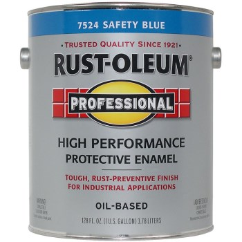 High Performance Protective Enamel, Safety Blue ~ Gallon