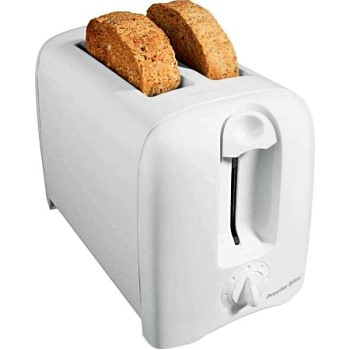 Hamilton Beach  22611 Proctor Silex Brand  2 Slice Toaster ~ White