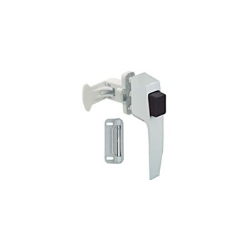 White Pushbutton Latch, Visual Pack 1326