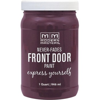 Express Yourself Front Door Satin Paint, Playful ~ Quart