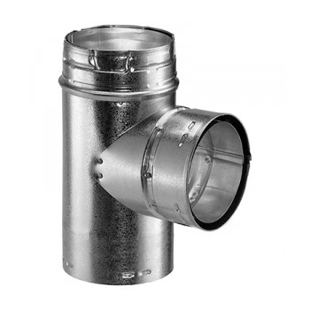6in. Duravent Gas Vent Tee