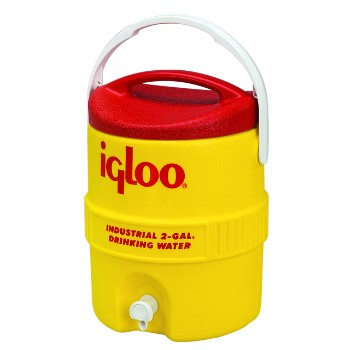Water Cooler, Yellow/Red ~ 2 Gallon