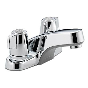 Two-Handled Lavatory Faucet - Chrome