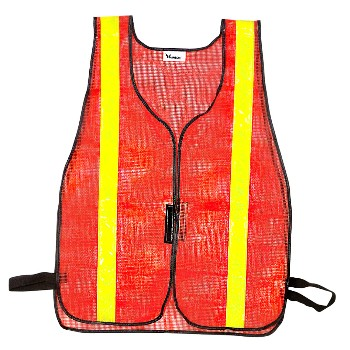 CH Hanson 55125 Safety Vest, Fluorescent Orange