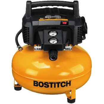Black & Decker/Stanley/Bostitch BTFP02012 Pancake Style Air Compressor ~ 6 Gallon