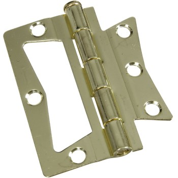 Brass N-M Hinges, Visual Pack 535 3 x 3 inches