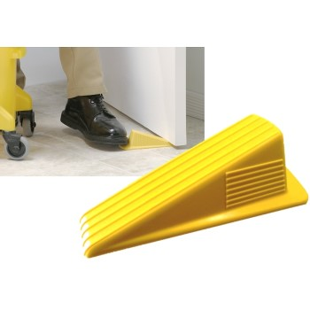 Floor Door Stop,  Yellow  ~ 6.25""