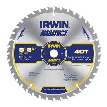"Marathon Table Saw Blade ~ 8-1/4"" 40T"