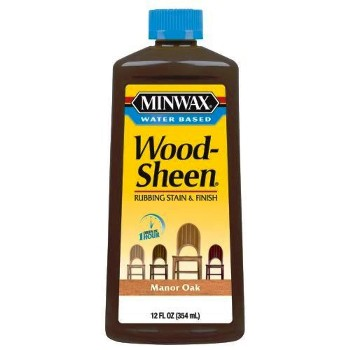 WoodSheen Rubbing Stain, Manor Oak  ~ 12 oz.