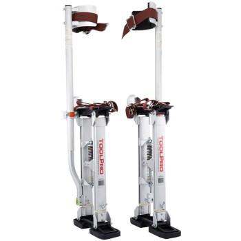 "Toolpro Inc TP71830  Aluminum Adjustable Stilts ~ 18"" to 30"""