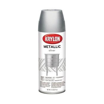 Krylon 1406 Spray Paint, General Purpose ~ Silver Metallic