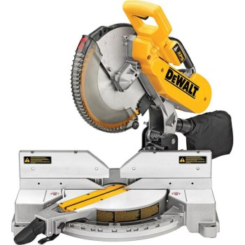 12in. Dbl-Bvl Miter Saw