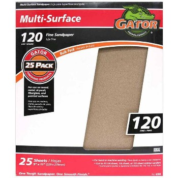 Ali Industries 4208 9x11 120 C Sandpaper