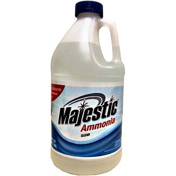 Champion Pkg/Dist MA140 Majestic Brand Clear Ammonia ~ 64 oz Bottle