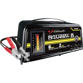 Dual Rate Manual Battery Charger ~  6/2 Amp 6/12V