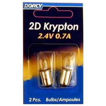 Dorcy Intl 41-1660 2.4v 0.7a Krypton Bulb