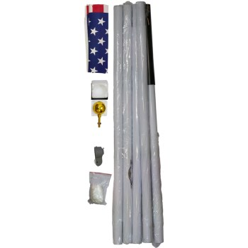 Sfp18fs 18ft. Flag Pole W/ Flag