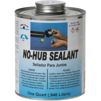 No-Hub Sealant ~ Quart