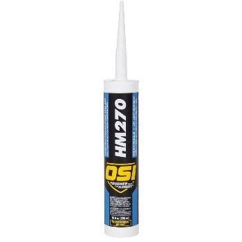 Construction Silicone Sealant, White ~ 10 oz Tubes