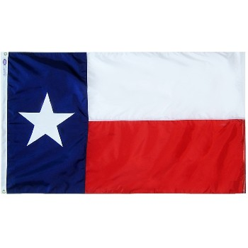 3ft. X5ft. Nylon Texas Flag