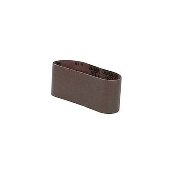 Resin Bond Sanding Belt - 120 grit - 4 x 24 inch