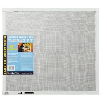 Adjustable Window Screen, 18 inch Height