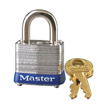 Tumbler Padlock, Steel Pin ~ Laminated  KA=1
