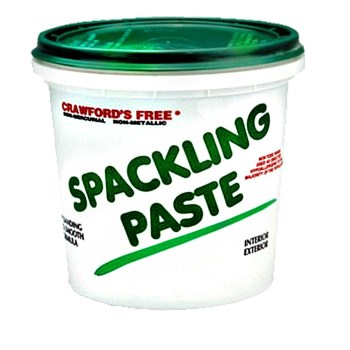 Spackling Paste,  Interior/Exterior Vinyl ~ 1/2 Pint