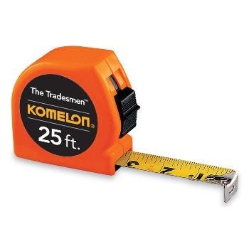 Komelon USA T3725 Tradesman Komelon Tape Measure ~ 25