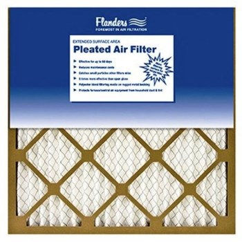 "Flanders Basic Pleated Air Filter ~  12"" x 24"" x 1"""