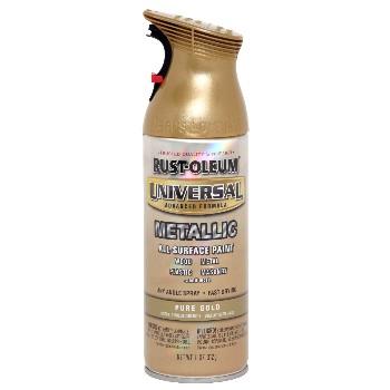 Rust-Oleum 245221 Universal Metallic Spray,  Pure Gold ~ 11oz