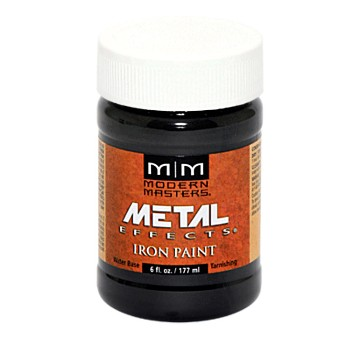 Metal Effects Paint, Iron ~  6 ounce