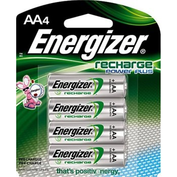 Energizer NH15BP-4 AA NiMH Rechargeable  Batteries
