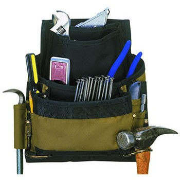 11 Pocket Poly Nail/Tool Bag