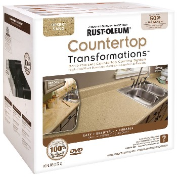 Rust-Oleum 258286 Countertop Transformations Kit, Desert Sand  ~ 50 Sq Ft