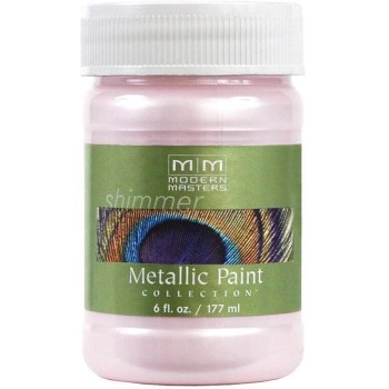 Metallic Paint, Rose 6 Ounce