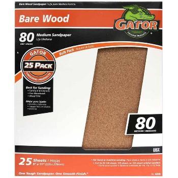 Ali Industries 4228 Sandpaper, Garnet ~ 80 Grit