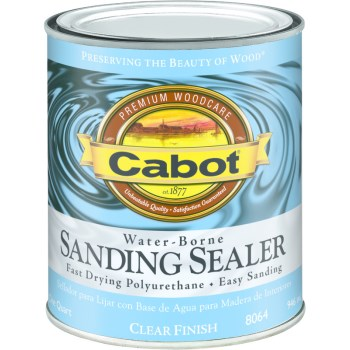 Cabot  Water Borne Sanding Sealer ~ Quart