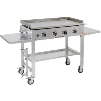 "36"" Outdoor Stainless Steel 4 Burner Griddle"