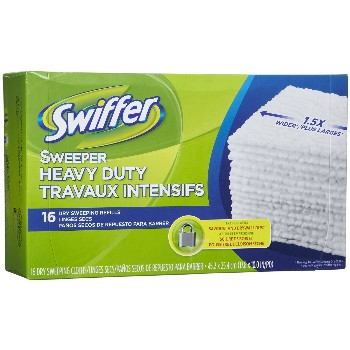 Swiffer Heavy Duty, X-Large Dry Cloths (Max)