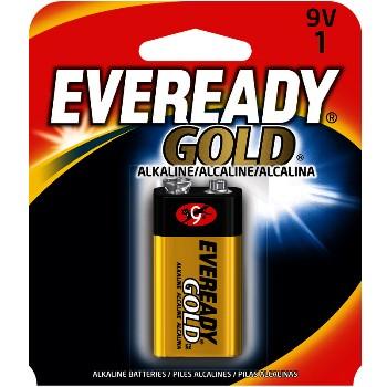 Energizer A522BP 9v Gold Alk Battery