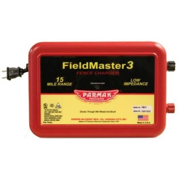 Parmak Fieldmaster3 AC Operated 15 Mile Fence Charger