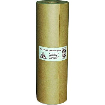"Brown Masking Paper, General Purpose ~ 12"" x 180 Ft"