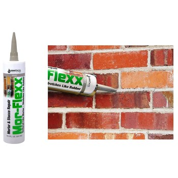 Mor-Flexx Caulk,  Gray ~ 10.5 oz Tubes