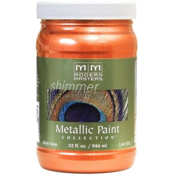 Metallic Paint, Burnt Orange 32 Ounce