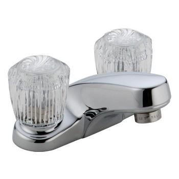 Delta Faucet 2502LF Ch 2-H Lavatory Faucet