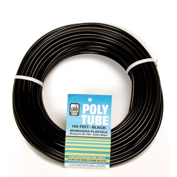 1/4x1000 Blk Poly Tube