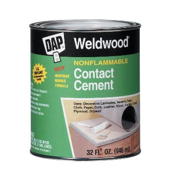 Contact Cement, Non-flammable - 1 Pint