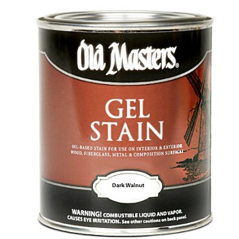 Gel Stain, Dark Walnut ~ Gallon